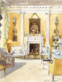 Evangeline Bruce's Living Room
