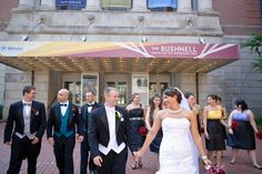 A Whimsical Wonderland Wedding at the Bushnell in Hartford, Connecticut