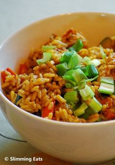 Teriyaki Chicken and Rice | Slimming Eats - Slimming World Recipes