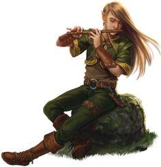 DSA Elf-Barde
