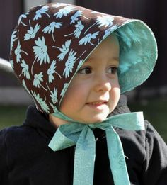 Baby bonnet - I would LOVE one of these for A!