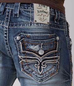 Rock Revival Dan jean shorts men's size 36 38 40 waist