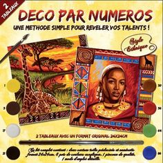 Pintura con números adulto - Recuerdos de África - Fotografía n°1