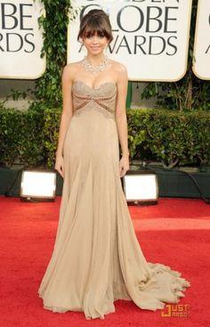 Buy Sarah Hyland Strapless Dress Golden Globe Awards 2011 Red Carpet Dress from celeblish.com