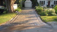 front walkway paver designs | Interlocking Driveway Pavers & Front Stone Walkways