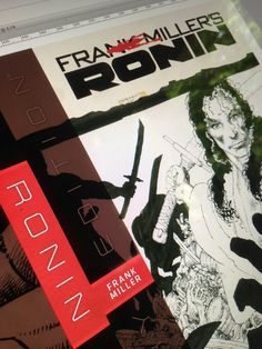 Frank Miller's Ronin Gallery Edition takes shape...