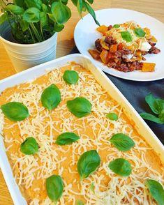 Ovenschotel met kalfsgehakt, butternut en puree van zoete aardappel – F is for Sofia