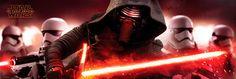 Mega póster Kylo Ren y Stormtrooper. Star Wars: El Despertar de la Fuerza. Episodio VII Póster con la imagen del ejercito de Stormtrooper basados en la nueva película de la saga de Star Wars.