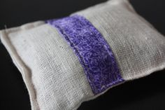 Lavender sachet. #diy #sewing