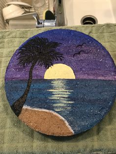 Hacerlo - Painting Ideas For Beginners 2020 Rock Painting Patterns, Rock Painting Ideas Easy, Rock Painting Designs, Pebble Painting, Pebble Art, Stone Painting, Painted Rocks Craft, Hand Painted Rocks, Stone Crafts