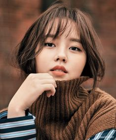 POPdramatic: Kim So Hyun Looks Chic and Poised in a Pictorial with Marie Claire Korean Actresses, Asian Actors, Korean Actors, Child Actresses, Actors & Actresses, Korean Beauty, Asian Beauty, Korean Celebrities, Belle