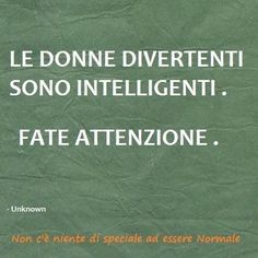 Donne divertenti / donne intelligenti