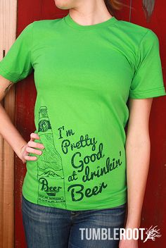 Pretty Good at Drinkin' Beer Unisex T Shirt - Billy Currington inspired country shirt  #tumbleroot
