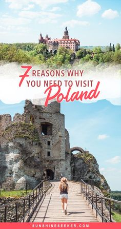 7 reasons why you should visit Poland right now! Looking for an affordable European getaway with something to do for everyone? Incredible nature, Medieval architecture, magical castles, delicious food, great shopping and plenty of spas. Europe Travel Tips, European Travel, Travel Guides, Travel Destinations, Time Travel, Cool Places To Visit, Places To Go, Visit Poland, Poland Travel