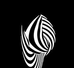 Zebra 56, 1988, Francis Giacobetti, reconnu comme l'un des plus grands photographes contemporains, récipiendaire de prestigieux prix de photographie et de direction artistique, nous présente une série mythique, ZEBRAS (ou Optic Stripes). Des nus vêtus d'ombres. Des corps dévoilés par la lumière. Un jeu magistral d'éclairages qui dessinent des formes sculpturales.
