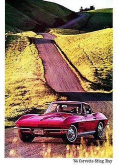 1964 Chevrolet Corvette Stingray - Promotional Adv… - US Trailer would love to repair used trailers in any condition to or from you. Contact USTrailer and let us sell your trailer. Click to http://USTrailer.com or Call 816-795-8484