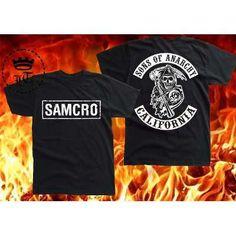 Camiseta Sons Of Anarchy- Camisa Seriado Samcro- Frete Grats - R$ 34,90 no MercadoLivre