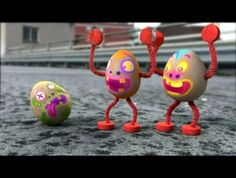 A fun sting we made for E4 featuring everyone's favourite - eggs! Sound Design by Alan boorman Animation etc. - Olly Reid