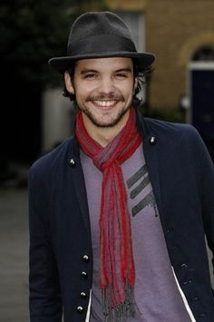 Andrew Lee Potts from Alice and Primeval.  So CUTE!   Dream Toys Photocall at St. Marys Church on October 10, 2007 in London.