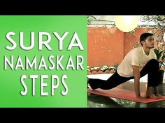 Correct way to do Surya Namaskar - YouTube