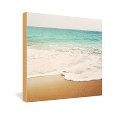Bree Madden Ombre Beach Gallery Wrapped Canvas | DENY Designs Home Accessories