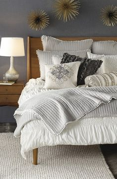 Nordstrom at Home 'Isabella' Duvet Cover | Nordstrom--master bedroom