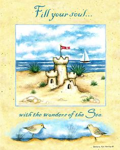 Blue Butterfly: Illustrations of Barbara Ann Kenney / Beach