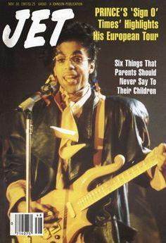 "Prince • 1987 'Sign ""☮"" The Times' Era - Jet Magazine"
