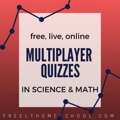 Online Multiplayer Games & Quizzes in Science & Math Learn Math Online, Real Life Math, Online Quizzes, Fun Math Games, Math Help, Math Practices, Free Math, Math For Kids, Learning Resources