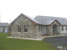 Here you can view a selection of stone houses I have constructed. - Here you can view a selection of stone houses I have constructed. If you would like further informa - Split Level House Plans, Square House Plans, Metal House Plans, Cottage House Plans, Cottage Homes, Dormer House, House Designs Ireland, Bungalow Bedroom, House Plans South Africa