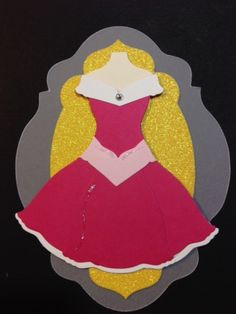 Punch Out Aurora Dress #DIY #Disney #SleepingBeauty