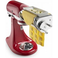 Use the power of your KitchenAid® Stand Mixer to bring the taste of fresh pasta into your home. The ravioli maker lets you manually guide two sheets of fresh pasta through the hopper, filling the pockets with whatever combination of ingredients you choose Toy Kitchen, Small Kitchen Appliances, Kitchen Items, Kitchen Aide, Kitchen Dining, Kitchen Tools, Kitchen Things, Kitchen Decor, Cooking Gadgets