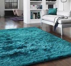 whisper teal rug