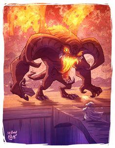 Balrog by OtisFrampton.deviantart.com on @deviantART