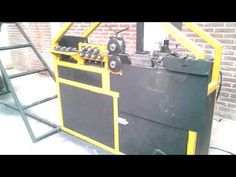 MAQUINA PARA FABRICAR ESTRIBOS DE ALAMBRON MARCA MAFIL - YouTube Filing Cabinet, Wire, Make It Yourself, Storage, Metal, Youtube, Projects To Try, Purse Storage, Larger