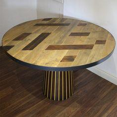 Stunning Bespoke Table now in Oak Table, Dining Table, Restaurant Furniture, Daily News, Restaurant Bar, Bespoke, Character, Home Decor, Oak Desk