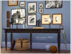 Sims 4 CC's - The Best: Hallway Set by Severinka