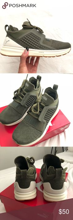 63bdaa99bc2 PUMA Women s Ignite Limitless Reptile Worn once for a shoot only. Comes  with box.