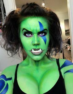 World of Warcraft - Garona Halforcen #Makeup