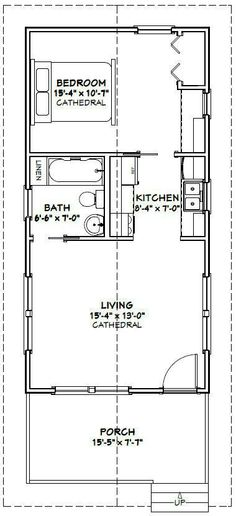 Best 12 X 24 Cabin Floor Plans Google Search Cabin Coolness 400 x 300