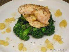 HCG Phase 2 - Apple Stuffed Chicken Breast Recipe