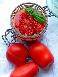 Fabryka Kulinarnych Inspiracji: Pieczone pomidory w oleju
