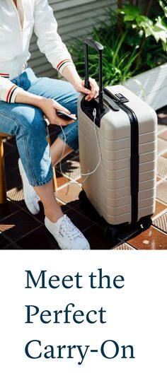 """The perfect carry-on bag has arrived – and it's under $250"" - Vogue"