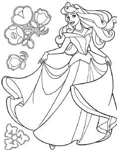 Disney Målarbilder för barn. Teckningar online till skriv ut. Nº 100