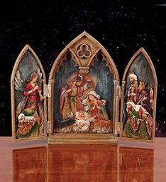 Nativity Folding Screen