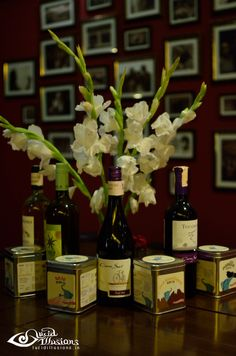 Exquisite teas from Tea Trunk paired with wines from Sula Vineyards & Sula Selections...