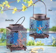Solar Bug Zapper Lantern From Collections Etc.