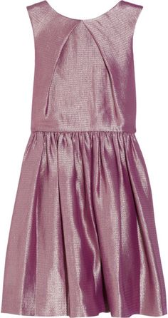 Love this: Metallic Jacquard Dress @Lyst