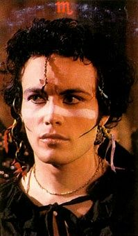 Picture of Adam Ant.  So,  yeah, I found a great site for Adam Ant pictures.