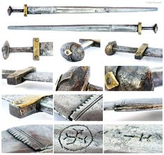Sahel sword with 14th century German blade. Private collection. ©Iain Norman